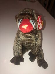 Beanie Baby Cheeks Original 1999 With Errors And Hologram Tag