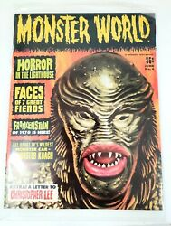 Monster World 4 Christopher Lee Frankenstein Creature From The Black Lagoon1963