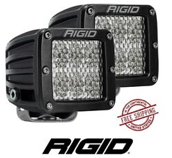 Rigid Industries D-series Pro Surface Mount Led Light Set -driving/ Diffused Blk