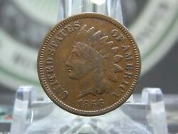 1866 Indian Cent Penny 1c 7 East Coast Coin And Collectables Inc.