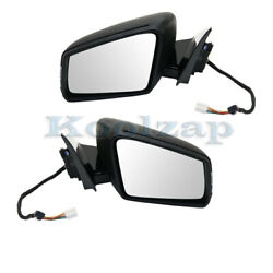 10-16 Benz E-class Mirror Power Heated W/memory, Signal And Puddle Lamp Set Pair