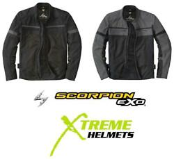Scorpion Cargo Air Mesh Jacket Integrated Level 1 Armor Reflective Piping S-5xl