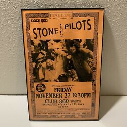 Vintage Stone Temple Pilots Band Flyer Poster 90's Rock Music Club 860