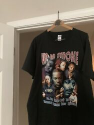 Rare Vintage Deadstock 2000 Up In Smoke Tour Rap Tee Shirt Xl No Dry Rot