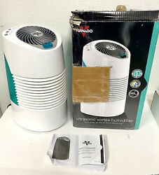 Vornado Whole Room Humidifier Cool Mist Ultra3 Ultrasonic Led Lights Quiet White