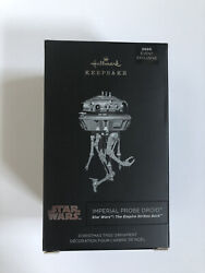 ✅sdcc 2020 Hallmark Ornaments Star Wars Imperial Probe Droid 🚚 Ships Fast 🚚