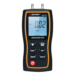 Sndway High Precision Differential Manometer Hand-held Lcd Digital X1a5