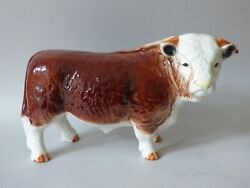 W@w Large Nelson Countryside Farm Cattle Hereford Butchers Shop Bull 21 Free Uk