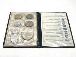 Vintage Coins Of Israel Official Uncirculated Set 1979 Government 7 Coins Hebrew