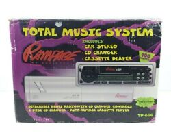 Rampage Total Music System- Av-427 Cassette Deck And Acc-30 Cd Changer By Audiovox