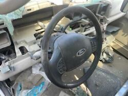 02-07 Ford F250 Super Duty 6.0l 4x4 Steering Column And Wheel Radio And Temp Cont