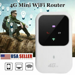 Us Durable Unlocked 4g-lte Mobile Broadband Wifi Routers Portable Modems Hotspot
