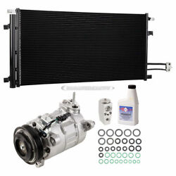 For Chevy Silverado Gmc Sierra Oem Ac Compressor W/ A/c Condenser Repair Kit Csw