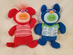 Fisher Price Sing a Ma Jig Plush Blue Skinnamarink Red Yankee Doodle Works Great