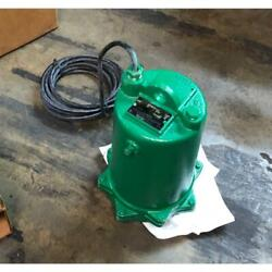 Myers Me50s-21 1/2 Hp Submersible Effluent Pump/w Power Cord, 230/60/1 Rpm3450