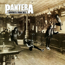 Pantera Cowboys From Hell Brand New Brown Record Lp Vinyl