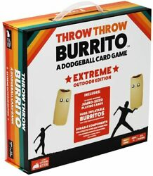 Throw Throw Burrito - Exploding Kittens Extreme Outdoor Edition A Dodgeball Game