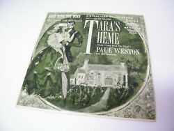 45 Record Taraand039s Theme Gone With The Wind Quo Vadis Paul Weston Orchestra