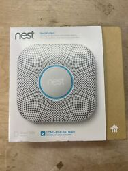 Nest Protect Smoke And Carbon Monoxide Alarm 2nd Gen S3000bwes - Battery Operated