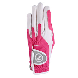 2 Zero Friction Womenand039s Compression One Size Golf Gloves - Right Hand - Pink