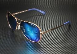 Mk5004 100325 Chelsea Rose Gold Blue Mirrored 59 Womenand039s Sunglasses