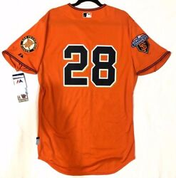 Authentic Majestic Sz. 60 4xl San Francisco Giants Buster Posey Cool Base Jersey