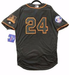 Authentic Majestic 44 Large San Francisco Giants Willie Mays Flex Jersey Rare