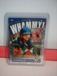🔥2021 Panini Donruss Bo Bichette Super Short Print Ssp Whammy Case Hit Blue Jay