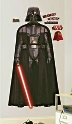 Roommates Star Wars Classic Vadar Peel And Stick Giant Wall Decal 70 Tall