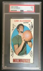 1969 Topps Lew Alcindor Rookie - 25 - Psa 3 - Iconic Trading Cards