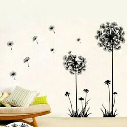 Removable Wall Sticker Dandelion Wall Art Home Room Decor Vinyl Mural Decal