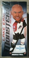 New Lake Erie Monsters Shaquille Shaq O'neal Bobblehead - Nrfb