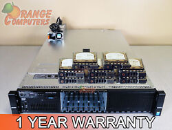 Dell R730 20-core Server 2x E5-2687w V3 3.1ghz 192gb-32 8x 300gb 15k Sas H730
