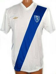 Vintage 90s Umbro Guatemala National Soccer Team White Home Jersey Shirt Size Xl