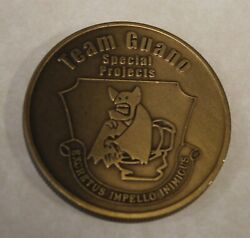 Team Guano Special Projects Exlacs B-2 Bomber Groom Lake Area 51 Challenge Coin