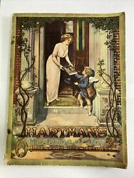 1913 Hartman's Catalog Home Decor Rugs Furniture Stoves Guns Jewelry Antique