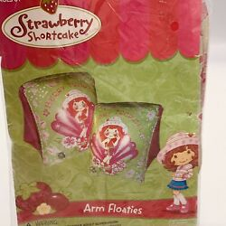 Strawberry Shortcake Arm Floaties Berry Tropical Green And Pink Pool Safety Floats