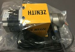 Zenith 11-90000-3000-0 Gear Pump With Applied Motion Ht34-695 Step Motor