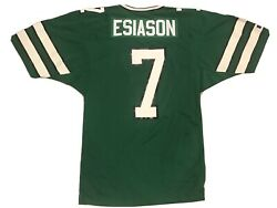 Authentic Russell Boomer Esiason New York Jets Green Nfl Football Jersey Sz 44