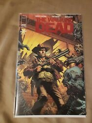 The Walking Dead Deluxe 1 Red Foil Exclusive Skybound Variant Cover Nm