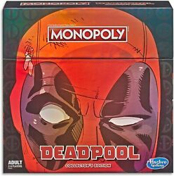 Monopoly Game Marvel Deadpool Collectorand039s Edition - Brand New Sealed