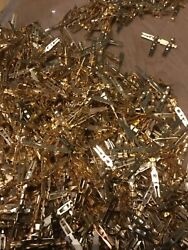992 Grams Of Gold Plated Pins/connectors Gold Scrap Recovery Mil High Yield