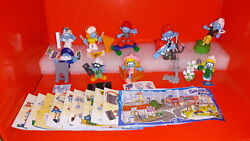 Kinder Surprise The Smurfs In The City Complete 2018 N' 37 Gio6