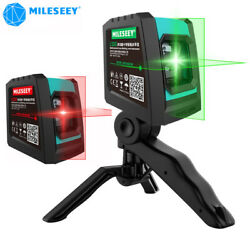 Mileseey Laser Level Home Diy Cross Line Laser Level Self Leveling Rechargeable
