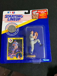 Starting Lineup Sports Collectibles 1991 Nolan Ryan Card, Figure And Coin 🔥⚾️