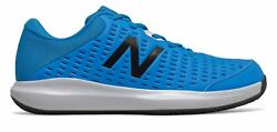New Balance Menand039s Clay Court 696v4 Tennis Shoes Blue With Blue