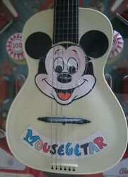 Mousegeetar By Disney 50's Most Rare Version Mickey Mouse Maccaferri Guitar