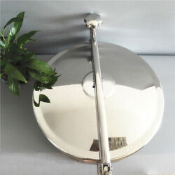 300mm Stainless Steel 304 Circular Manhole Cover Sanitary Tank Manway New Tool