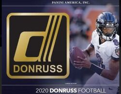2020 Panini Donruss Football Nfl You Pick Complete Your Set