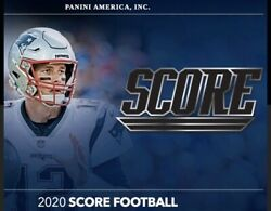 2020 Score Nfl - Base Cards - You Pick - Complete Your Set